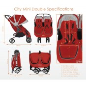 BABY JOGGER CITY MINI Double 2016 (Obr. 2)