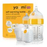 YOOMI 8oz Bottle/Warmer/Teat/Pod