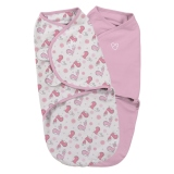 SUMMER Infant Zavinovačka SwaddleMe 2 ks Ptáčci - Pink