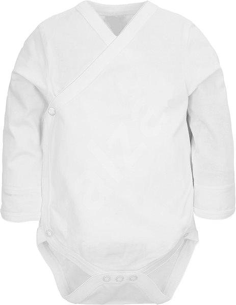 AMARO Kojenecké překládací body dl.rukáv bílé - 50cm 56f27d8c53