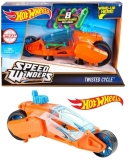 HOT WHEELS SPEED WINDERS moto Twisted cycle - oranžový