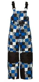 6eaceab55 LOAP Dětské lyžařské kalhoty ARLY modré potisk   BABY DRÁČEK