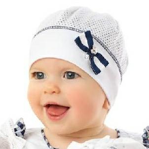 06c93aeb312 MARIKA Čepička bavlněná letní bílá